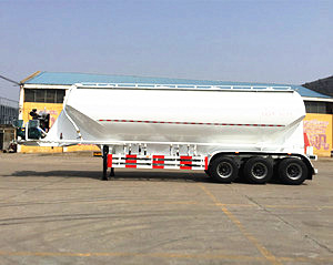 BULK CEMENT TANKER SEMI TRAILER,