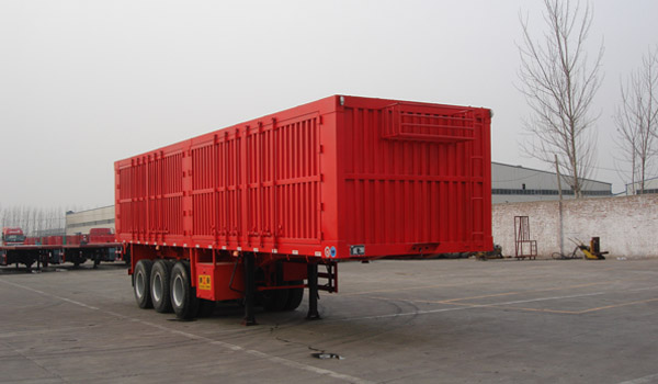 CHINA HOT-SALE 3 AXLES BOX TRUCK TRAILER