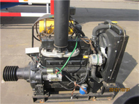 DIESEL ENGINE FOR BULK CEMENT TANKER SEMI TRAILER