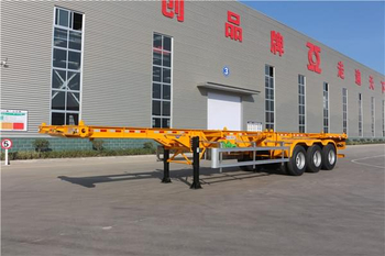 Intelligent production line for semi trailer