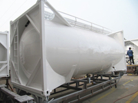 20ft container bulk cement tanker